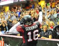 Cleveland Gladiators WR Dominick Goodman leads AFL in receptions