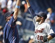 JD Martinez hits 3 HRs, Tigers tag Tanaka and top Yanks 12-4