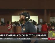 Ocean Lakes High School football coach suspended