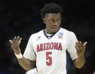 Pistons take Arizona's Johnson with No. 8 pick in draft