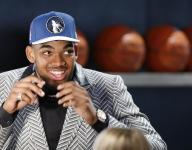 Kentucky's Towns goes to Timberwolves with No. 1 overall pick