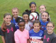 U.S. women's soccer team inspires young local players