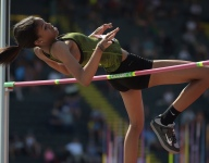 Randall Cunningham's kids complete high jump double at track Junior Nationals