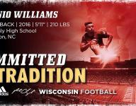 """Wisconsin football commit Antonio Williams has no time for lame """"Top 5"""" lists"""