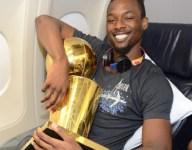 Harrison Barnes bringing NBA Finals trophy back to Iowa hometown