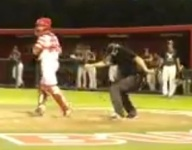 VIDEO: California umpire caps strikeout call with Whip Dance
