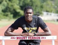 Mount Vernon's Benjamin runs into track record books