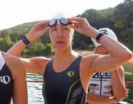 Community turns out to cheer Randolph Lake Triathlon