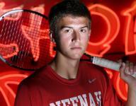 Neenah's Risgaard top prep tennis player
