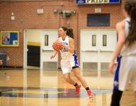 East girls top cold-shooting West team