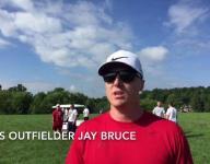 Jay Bruce puts on baseball camp at Sycamore