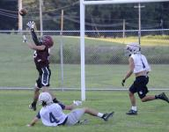 Newark, Granville show new weapons in passing scrimmage