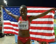 Lynna Irby shatters Indiana 400-meter mark, takes silver at World Youth meet