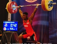 C.J. Cummings is only 15 and he's the strongest man ever in America