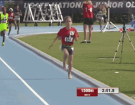 WATCH: 7-year-old sets Junior Olympics record in 1,500 while running barefoot