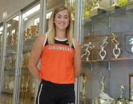 Gibsonburg's Colleen Reynolds leaves runners behind