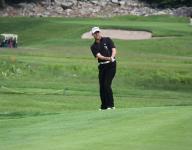 Rob Labritz makes a move at Met PGA event