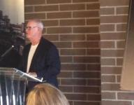O'Keefe, Tuttle give hall of fame remarks