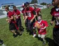 Victory Day a success for Big Reds mentors, special needs kids