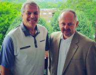 Former Vols AD Mike Hamilton helping out Trevecca