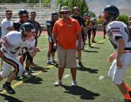 Douglas leaning on seniors
