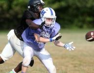 GMC football Camp Caravan coverage of Middlesex, South Plainfield scrimmage