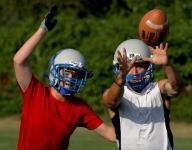 Nicholas Orlandini gives Blanchet's football team speed