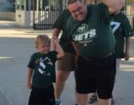 Jets welcome 5-year-old cancer survivor