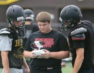 HF-L football uses drone for video practice footage