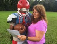 Female Glencliff coach inspired by first female NFL coach