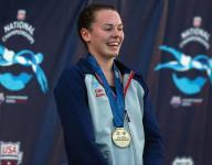 Carmel's Claire Adams reaches world junior swim final