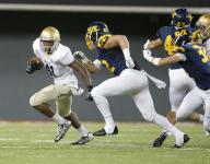 HS football: Cathedral falls when 2-point conversion fails