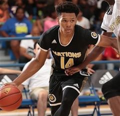 No. 5 junior Trevon Duval from Advanced Prep on hoops, hobbies and standing out
