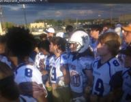 Franklin Parish, Sterlington players enter game arm-in-arm to honor late Franklin Parish player Tyrell Cameron
