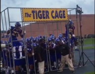VIDEO: Oscar Smith's Tiger Cage entrance is about as intimidating as it gets