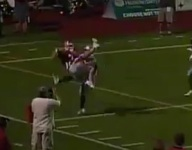 VIDEO: Hinsdale Central WR Matt Cherry had some TD catch and an even better celebration
