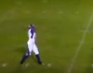 Virginia punter Cynthia Brown is first girl to ever throw TD pass in Virginia