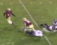 VIDEO: Brookwood WR Spencer Lewis channels his Braxton Miller spin cycle on TD catch and run