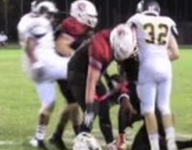 Helmetless player kicked in game, his family allegedly later attacks opponents