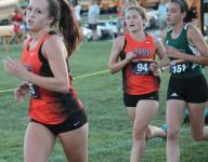 Loveland girls chasing Walnut and Turpin in ECC