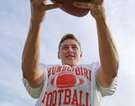 Thunderbird DB Cole Sutter intercepts 2 passes in first career football game