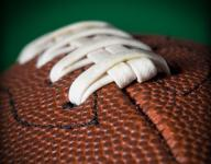 Senior too much for Harding in 49-14 win