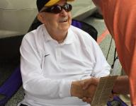 Great-grandfather bled orange, until great-grandson took the field