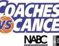 Chiefs game backdrop for 'Coaches vs. Cancer' benefit