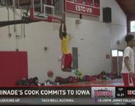 Chaminade's Cook commits to Iowa