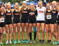 Mustangs girls third at MSU meet