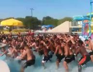 Euless Trinity water Sipi Tau makes splash