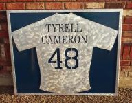 Sapa molds metal memorial for Tyrell Cameron