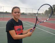 Rapids junior confident on the tennis court