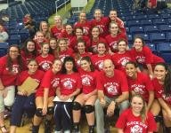 Special match for TCR volleyball